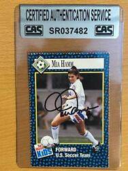 1992 Signed Sports Illustrated For Kids Mia Hamm Rookie Authenticated Autograph