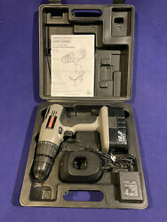 """Craftsman 3/8"""" 18 Volt Cordless Drill-driver Set With Case, Charger And Battery"""