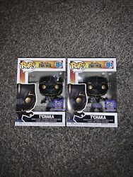 Funko Pop Black Panther Tandrsquochaka 867 Funko Hollywood Exclusive Mint Condition New