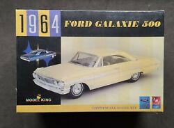 Amt/ertl 1964 Ford Galaxie 500 Promo Model Kit 1/25 New And Factory Sealed