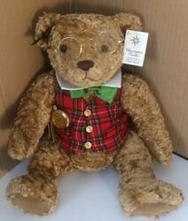 Collector Christopher Radko 1000 Produced Nwt Bear Plays Music Limited Edition