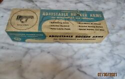 Iskenderian Racings Cadillac Oldsmobile Adjustable Rockers Arms Box Only Rare