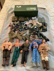 Lot Of Action Figures Gi Joe Lanard The Corps Accessories And More