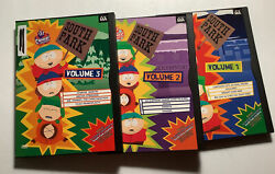 South Park Volume 1, 2, And 3 Dvd Lot, Like New.