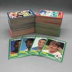 1989 Score Football Complete Set 330 Cards Barry Sanders And Troy Aikman Rookies