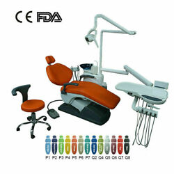 Dental Unit Examination Chair Computer Controlled Hard Leather Doctor Stool Fda