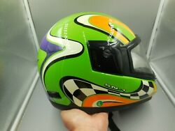 NICE ADULT SIZE LARGE FULMER SN 1 FULL FACE SNOWMOBILE HELMET ARCTIC CAT COLORS