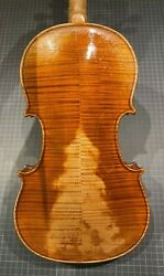 Old French Violin - Leon Mougenot - 4/4 Size - Collection Sale - W/ Hard Case