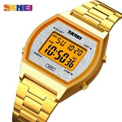 Skmei Japan Digital Movement Sport Watches Mens Led Light Count Down Electronic