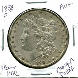 1888 P Au Morgan Dollar 100 Cent About Uncirculated 90 Silver Us 1 Coin 1280