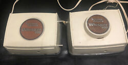 Second Nature Whisper 800 And 700 Air Pump Lot Of 2