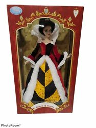 Disney Store Queen Of Hearts Limited Edition Doll 1 Of 500. Nm New Iob