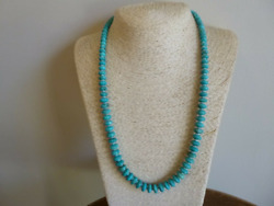 Natural Turquoise And Sterling Silver Native American Navajo Southwestern Style