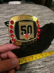 Chicago Bulls 50th Anniversary Commemorative Official Championship Ring