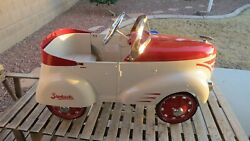 Starbucks Vintage Limited Edition 2002 Gendron Holiday Pedal Car.