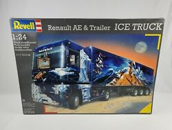 1996 Revell 1/24 Model Renault Ae And Trailer Ice Truck New Open Box Sealed Bags