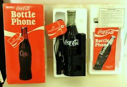 Nos New-in-box Coca Cola Bottle Phone Model 5000 Plug-in Telephone