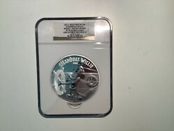 Mickey Mouse Disney Steamboat Willie 2015 1kilo Niue 100 Silver Coin Pf 70 Uc
