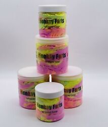 Whipped Soap Monkey Farts Scented Cream Bath Soap Foaming Bath Whip Shaving