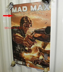 Mad Max Signed Sdcc Comic Con Poster Autograph Shane Davis For Video Game