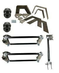 Rear Universal Weld On Kit 8 Frame Notch Parallel 4 Link And Slam Ss-6 Air Bags