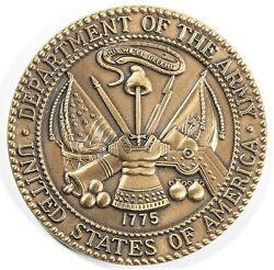 Us Department Of The Army Medal Token 2011 Nato Florida Conference 14659