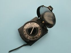 Nice Authentic Wwii German Officer Wehrmacht Marching Compass Type A Ww2