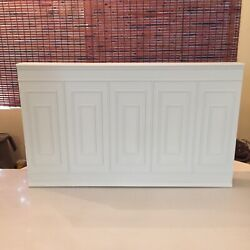 Room Box Diorama 1/6 Scale Artist Made Wall Panel With Wainscoting