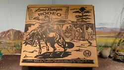 Marx Lone Ranger Rodeo Playset Complete With Box
