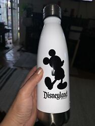 New Disneyland Resort Mickey Double Wall Stainless Steel Contain Bottle 16oz.