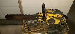 Delivery Large Antique Mcculloch Vintage Chainsaw 790 840 Stihl Echo Homelite