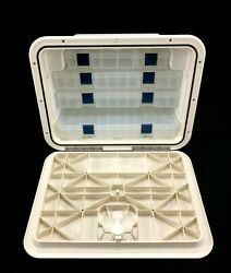 Innovative Product Solutions 530-203 13 X 17 Artic White Boat Tackle Center