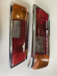 65-1969 Mercedes Benz W110 230 250 200 Rear Right Taillight Lens Lights Pair Oem