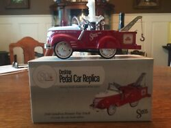 State Farm 80th Anniversary Pedal Car 1940 Gendron Pioneer Tow Truck 8 Bank Box