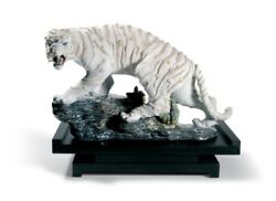 Lladro Mythological Tiger Figurine. Limited Edition 01008562. No. 96 Out Of 1500