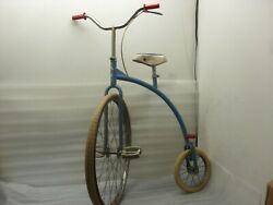 Vintage High Wheel Wheeler Bicycle Cycling Italy Bp Special