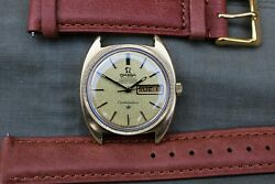 Sublime Vintage Omega Constellation Automatic Chronometer Day Date C.1970
