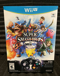 Super Smash Bros Limited Edition Wii U Factory Sealed Game Controller Adapter