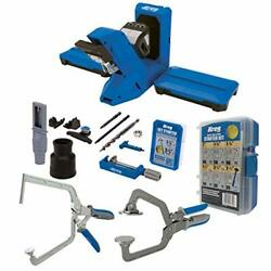 Kreg Pocket-hole Jig 720pro With The Khc3 Face Frame Clamp Khcra Right Angle Cla