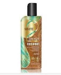 New Devoted Creations White 2 Bronze Black Coconut Tanning Lotion 8.5oz