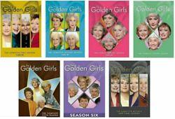 The Golden Girls The Complete Series Season 1-7dvd 21-discbox Set New