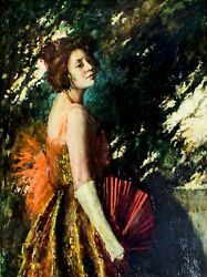 Indiana Gyberson Ilnyfrance1883-1962 Oil Painting