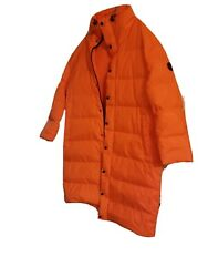 Long Down Puffer Coat Safety Orange Size L Nwt 498.00 Retail