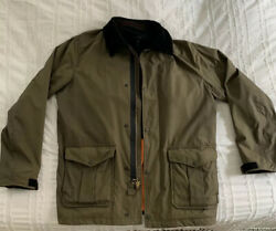 Rag And Bone Waxed Cotton Field Jacket - Menandrsquos Large