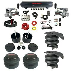 Complete Air Ride Suspension Kit Avs Manifold Bags And Steel Tank 1988-98 C15