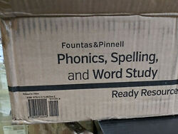 Fountas And Pinnell Classroom, Phonics, Spelling And Word Study System Pws Grade 1