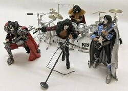 Mcfarlane Toys Kiss Creatures Stage Figures Box Set Incomplete He2033567