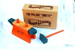 Vintage Peter-mar The Village Smitty Wooden Toy, New, In Orig. Box, Case Of 12