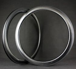 Aerodynamic Carbon Dimple Rims 700c Road Bicycle With 50mm Road Carbon Rims