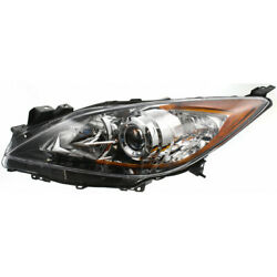 For Mazda 3 Headlight 2012 2013 Driver Side | 5 Speed Transmission For Ma2518130